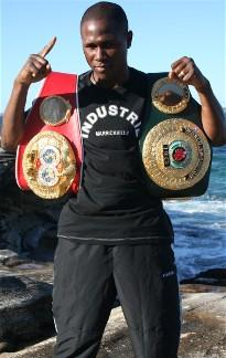 former IBF/IBO world champion Gairy St Clair