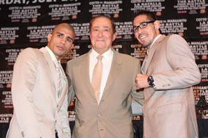 Cotto, Bob Arum, Margarito: HoganPhotos.com