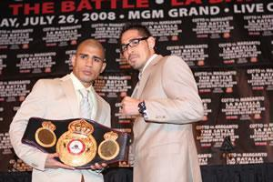 Cotto vs. Margarito: HoganPhotos.com