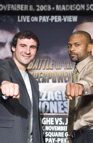 Does Jones have a chance against Calzaghe?