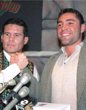 Was Chavez De La Hoya's best win?: HoganPhotos.com