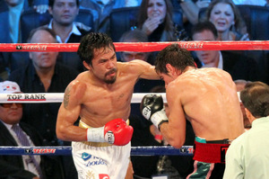 Pacquiao pummels a brave but outgunned Margarito