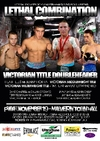Maniatis promotes Lethal Combination on Friday 19 November in Melbourne