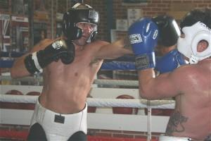 Taylor lands his jab
