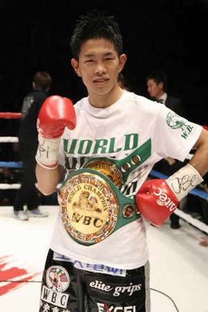 Kazuto Ioka won the battle of the undefeated
