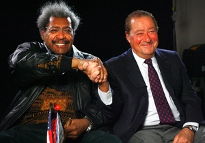 Arum and King take a trip down memory lane (pic Chris Farina)