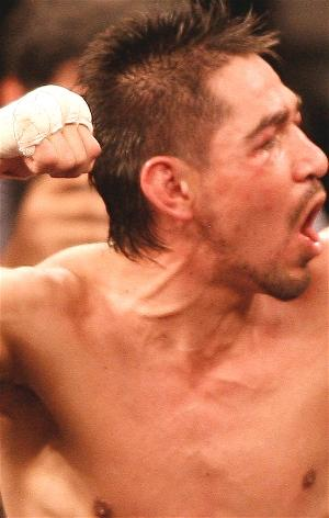 Margarito after beating Cotto: HoganPhotos.com