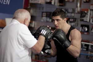 Marco Huck in Training