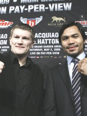 Hatton wants Pac-Man's crown: HoganPhotos.com