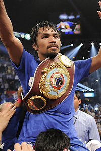 Pacquiao,unlikely to fight out of USA