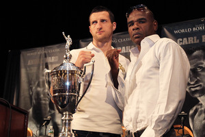 Froch and Johnson ready for war