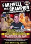 Clenshaw Faces King Davidson in Final Fight