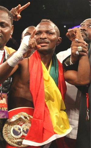 Joseph Agbeko wins: Tom Casino/Showtime