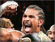 David Haye, new WBA champion