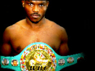 Bradley with WBC belt