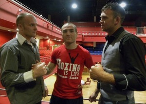 Waldron and Sweeney square up at the Royal Theatre