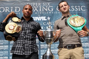 Froch and  Ward Ready For Final Countdown