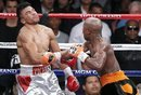 Mayweather drops Ortiz 