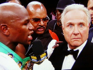 Floyd Mayweather &amp; Larry Merchant