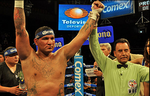 Arreola hopes to have his hands raised on Saturday
