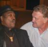 "Joe Frazier ""Smokes"" in Glasgow"