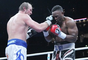 Helenius and Chisora battled in Helsinki