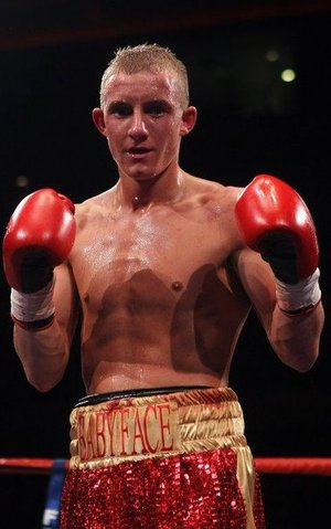 New British super flyweight champion Paul Butler