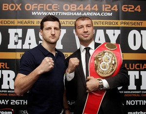 Froch and Bute size each other up