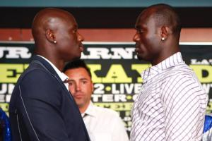 Tarver and Kayode face off