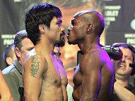 (Pacquiao 147 lbs - Bradley 146 lbs - Photo © Chris Farina / Top Rank)