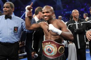 Bradley celebrates win over Pacquiao