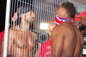 Haye and Chisora face off (pic Stefan Baisden)