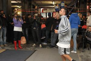 Malignaggi jumps rope 