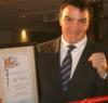 Jeff Hit Man Harding Honoured by WBC