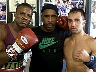 From Left to Right: Peter Quillin, Eric Brown, Paulie Malignaggi