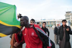 Mbelwa Arrives in Afganistan