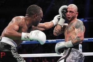 Trout defeats Cotto (pics Tom Casino)