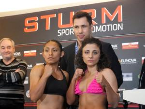 Moreno and Kentikian at weigh in