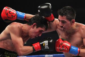 Guevara and Santa_Cruz battle