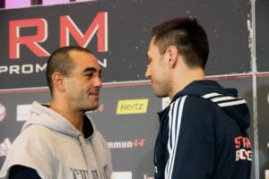 Sturm and Soliman face to face