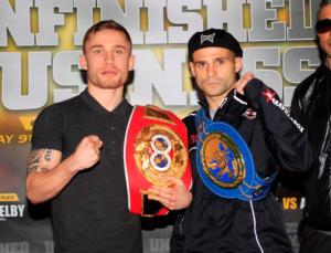 Frampton and Martinez heats up