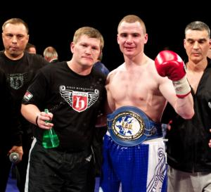 Senchenko celebrates title win with Hatton