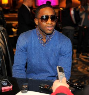 Broner looks relaxed
