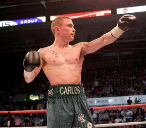 Frampton Stops Martinez to claim title