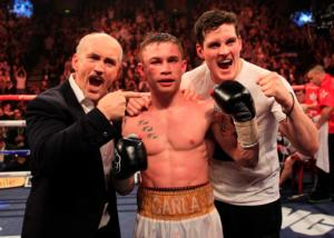 Frampton targets world title shot