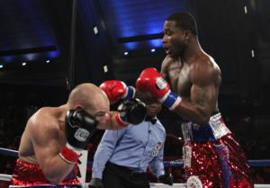 Broner towers over Rees