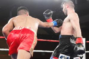 Perez aims a right hand at Hovhannisyan