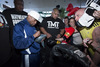 Tensions Erupt At Final Mayweather/Guerrero Presser
