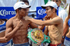 Weights from Mexico - Hernandez and Cardoza both on weight