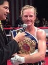 Holm Defeats McGee, Retires As Two-Weight WBF World Champ